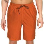BOSS Ocra Swim Shorts Badbyxor Orange polyester Large Herr