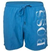 BOSS Octopus Swim Shorts Badbyxor Turkos polyamid Small Herr